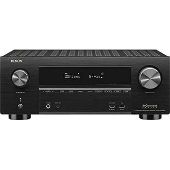 Denon AVR-X3500H Receiver (2018 Model) - 8 HDMI Input/3 Output & Enhanced  Audio Return Channel (eARC), HDR10, 3D video support   Super High Power,  7 2