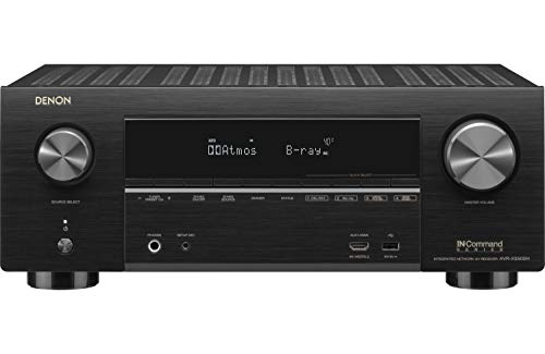 Denon AVR-X3500 Receiver - 8 HDMI Input/3 Output and Enhanced Audio Return Channel (eARC), HDR10, 3D video support | Super High Power, 7.2 Channel 4K Ultra HD Video | Home Theater Dolby Surround Sound