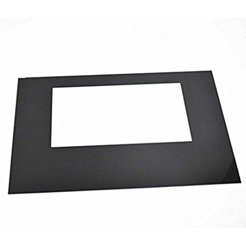 316558903 Range Oven Door Outer Panel (Black) Genuine Original Equipment Manufacturer (OEM) Part Black