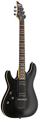 Schecter OMEN-6 Left Handed 6-String Electric Guitar, Black