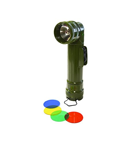 (Large Right Angled Flashlight (Army Green) )