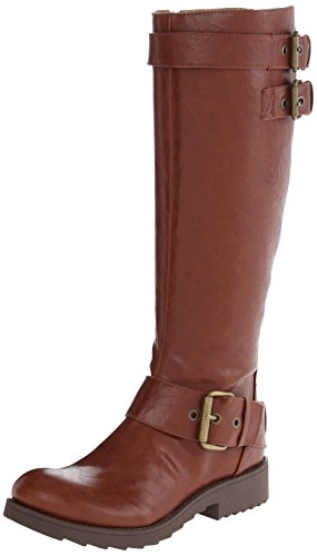 Nine West mujer Aragosta botas de caña alta Coñac