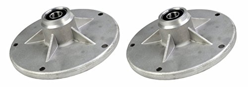 Two (2) Pack Erie Tools Lawn Mower Jackshaft Housing Spindle Assembly for Murray 20551 24384 24385 492574 492574MA 90905 92574 1001049 by Erie Outdoor Power Equipment