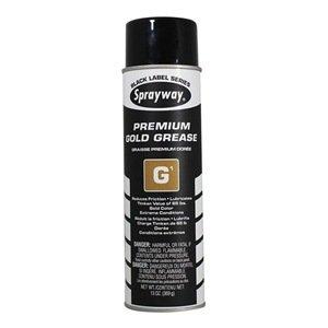Sprayway SW294 G1 Premium Gold Grease 12/Case by Sprayway