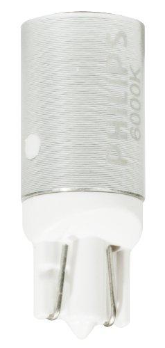 Philips T10 retrofit X-tremeVision LED 6000K Interior light, Fits 194, 168 (Pack of 2)