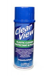 (CLEAR VIEW PLASTIC CLEANER PROTECTANT & POLISH - 13 OZ)