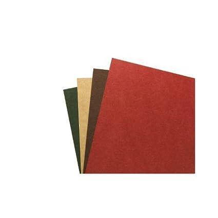 GBC 4400005 Copertine per Rilegatura Riciclate A4 Rosso, Confezione da 100 ACCO Brands