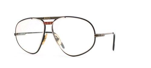 Ferrari 12 586 Black Authentic Men Vintage Eyeglasses - Ferrari Glasses Frames