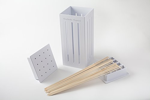 Brochette Express with 32 bamboo skewers (Savannah Kitchen)