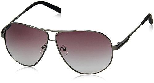 Joe Black Gradient Aviator Unisex Sunglasses - (JB-060-C1|60|Grey Lens)