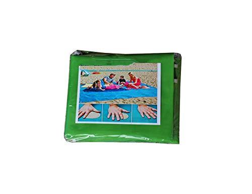 (Old street Magic Beach Mat Outdoor Travel Magic Sand Free Picnic Camping Mattress Blanket Foldable Beach Mat,Green,200x200cm)