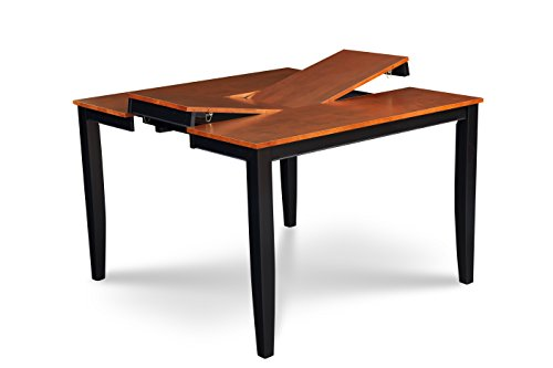 Counter Frame Table (Trithi Furniture - Fullerton EXTENDABLE Counter Height Table (Black Frame))