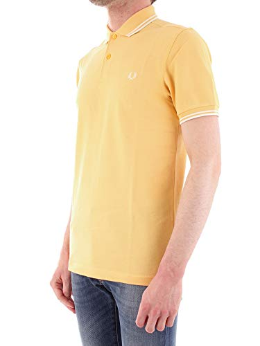 Giallo1966 Perry Tipped F76 ShirtPolo Fred Twin Uomo Yellow vm8n0wNO