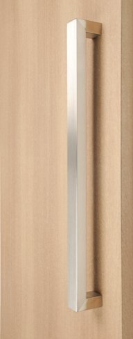 STRONGAR Modern & Contemporary/Commercial/Residential/Rectangular/Square/1524mm/60 inches Push-pull Stainless-steel Door Handle - Brushed Satin Finish