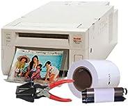 Impressora Fotográfica Kodak 305 c/kit de impressão 320 Fotos e cortador Foto 3x4