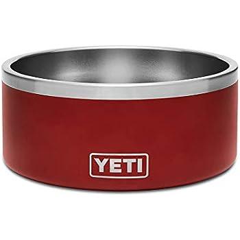 YETI Boomer 8 Stainless Steel, Non-Slip Dog Bowl, Brick Red Duracoat