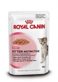 48 (4 X 12) ROYAL CANIN WET CAT FOOD POUCHES KITTEN...