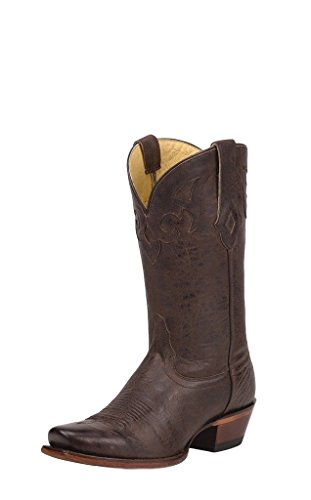Tony Boots Cowgirl Lama - Tony Lama Women's Cafe Crush 100% Vaquero Cowgirl Boot Square Toe Black 6 M US