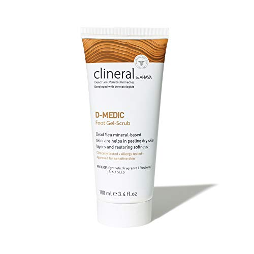 AHAVA CLINERAL D-MEDIC Foot Cream, 125 ml