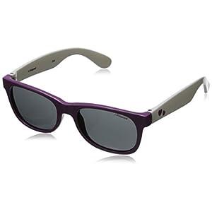 Polaroid Sunglasses Unisex-Child P0300s P0300S Polarized Wayfarer Sunglasses, C-PURPLE WHITE, 42 mm
