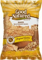 Good Natured Baked Multigrain Crisps Original Grains 2.375 Oz. (Pack of (Kosher Baked Goods)