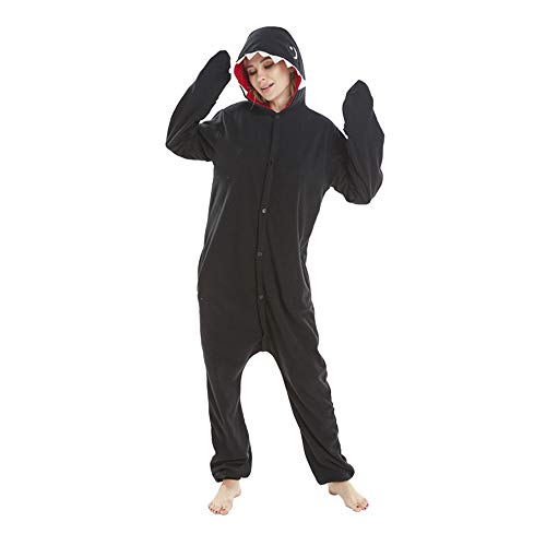 Women's Hooded one-Piece Fleece Onesie for Winter Autumn Ani