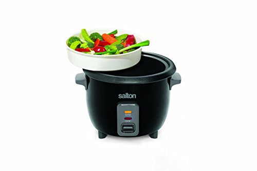 Salton RC1653 Automatic Rice Cooker, Stainless Steel