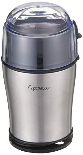 Capresso 506.05 Cool Grind Pro Coffee Grinder, Stainless Steel
