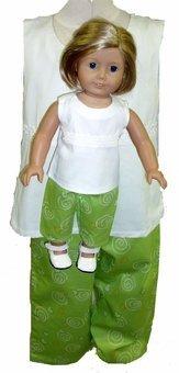 一致するトップとパンツ女の子と人形のサイズ14   B00Z0JFOT8, 井筒屋古書店:2a0d430d --- arvoreazul.com.br