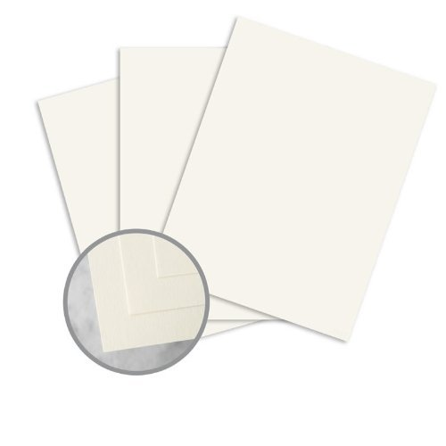 (CLASSIC CREST Recycled 100 Natural White Card Stock - 8 1/2 x 11 in 80 lb Cover Smooth 100% Recycled 250 per Package)
