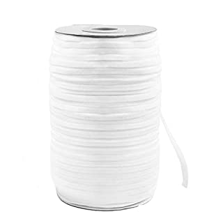 """Elastic Band,Shed Protector 200 Yard 1/4"""" Inch Sewing Elastic Band/Rope/Cord/String for Handmade Making, Spool Roll, Stretch, Craft Elastic"""