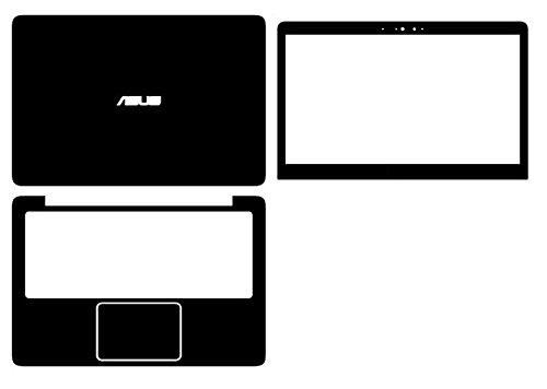 Special Laptop Black Carbon fiber Skin Cover Guard for 2016 newest ASUS ZenBook UX310 UX310UA UX310UQ 13.3-inch