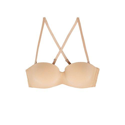 ZHFC-Correa de hombro desmontable de multi - posicion del sujetador ropa interior femenina; efecto lifting; 75b