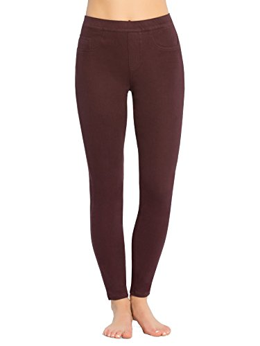 Wine Indigo Leggings Spanx Brandy Knit Cropped qj5R4Lc3A