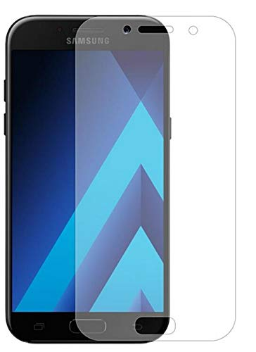 Luckyandery Galaxy A520 Screen Protector 3D, Lightweight Shock-Absorption and Anti-Scratch Glass Screen for Samsung Galaxy A520,4 Pack ()