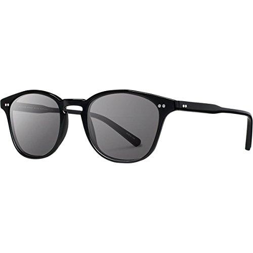 Shwood- Kennedy Acetate, Sustainability Meets Style, Black, Grey Polarized - Sunglasses Kennedy