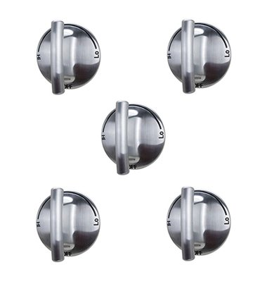 (KS) 74007733 PS2375871 AP5668987-5 PACK Burner Knob Exact fit for Jenn Air Gas Range Cooktop