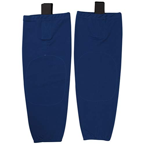 - COLDINDOOR Ice Hockey Socks Boy, Kids Youth Cool Shin Pad Hockey Socks S Blue