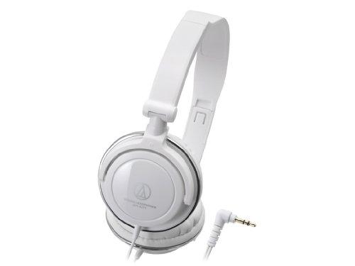 Headphones White Portable Wh (Audio Technica ATH-SJ11 WH White | Portable Headphones (Japan Import))
