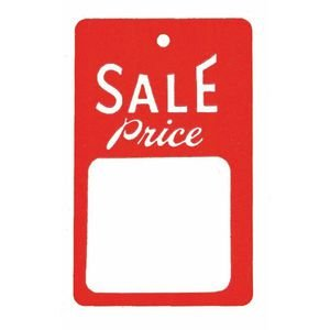 Sale Price Tags (Red/White) Case of 1000 by Retail Resource