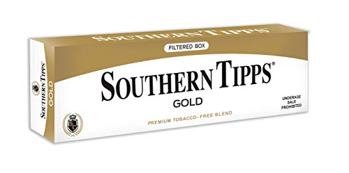 SOUTHERN TIPPS Gold Carton - Tobacco & Nicotine