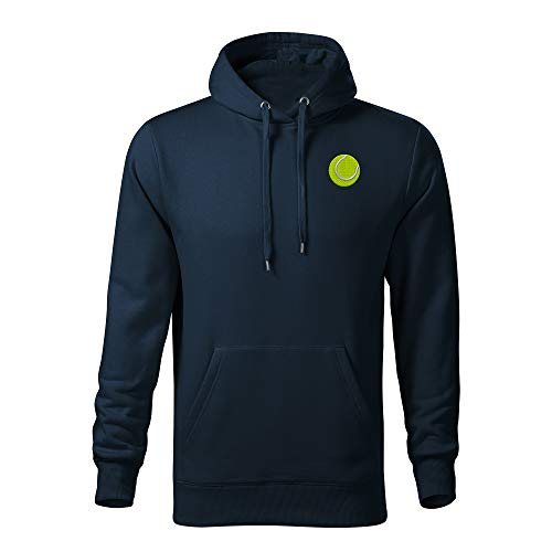 Hoodie Logo Tennis Class Men Navy Original Premium Sweatshirt Ball Embroidered ZOTxEwTCIq