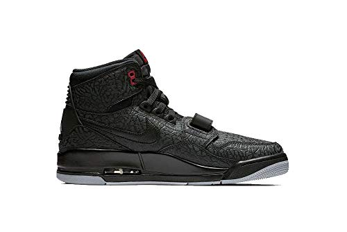 Jordan Nike Men's Air Legacy Elephant Print-Black/Red 312 AV3922-006 (Size: 12) (Air Elephant Jordan)