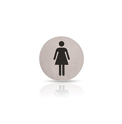 Kerafactum® - Woman Mujer Mujer tapa de inodoro Cartel Nota ...