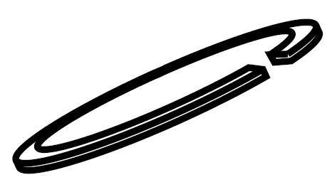 30219 Reed Retaining Ring for Roll Groovers