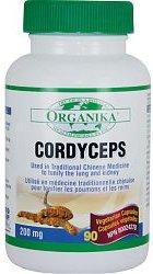 Organika Cordyceps Mushroom Extract, 200mg, 90 vegetarian capsules