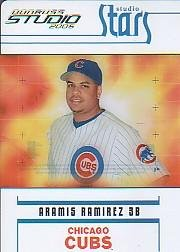 (2005 Studio Stars Baseball Card #31 Aramis Ramirez)