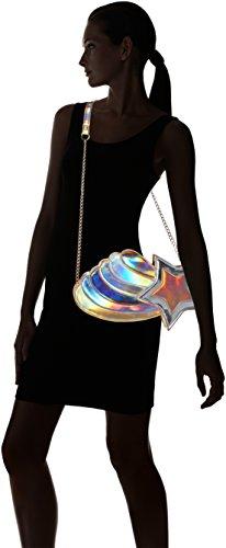 Lydc London Willow, Sac à bandoulière pour femme multicolore, 6x20x37 Cm (b X H T)