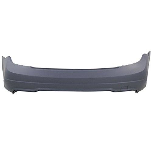 12-15 C-Class Coupe/Sedan Rear Bumper Cover Assembly Primed MB1100287 (Sedan Bumper Package)
