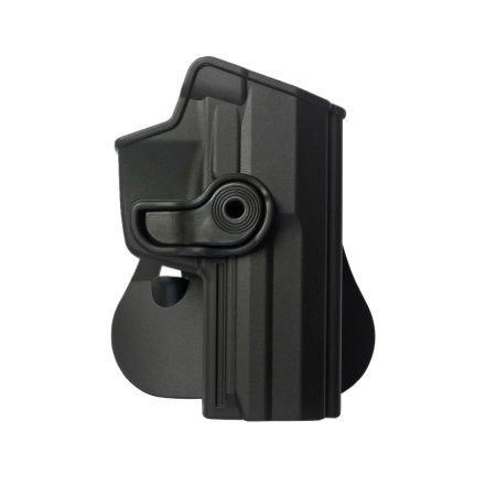 Polymer Retention Roto Holster Fits Heckler and Koch USP 45 Full-Size (H&K USP FS .45) Black (Heckler And Koch Usp 45 For Sale)
